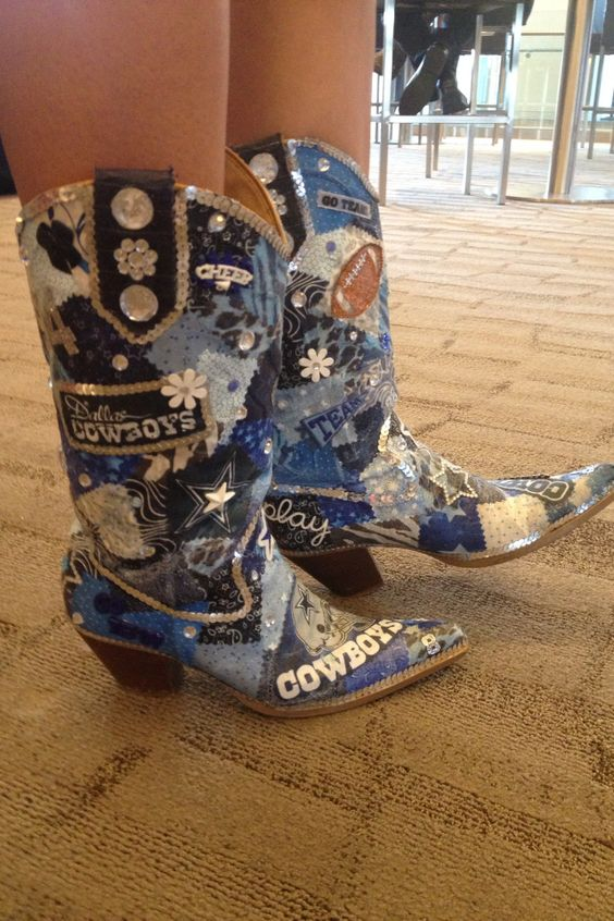 Dallas Cowboy Boots | Football | Pinterest | Dallas cowboys boots ...