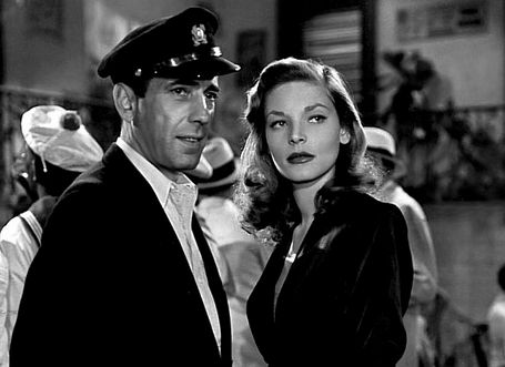 Humphrey Bogart & Lauren Bacall in To Have and Have Not (1944)