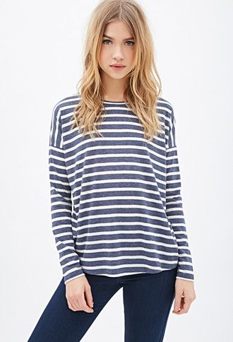 Striped Dolman Top | Forever 21 - 2000059120