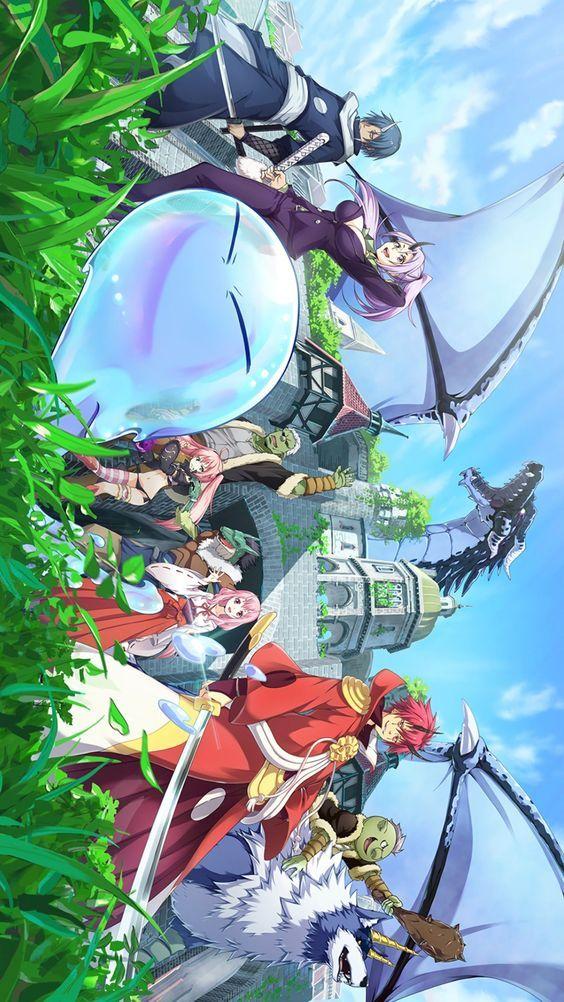 That Time I Got Reincarnated As A Slime Anime Wallpaper Thattimeigotreincarnatedasaslime Anime Cosplayclass Seni Anime Latar Belakang Gambar Anime