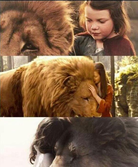 Aslan e Lúcia *-*: