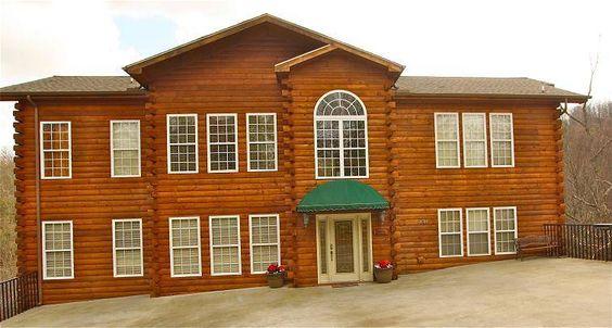Memory Mansion A 8 Bedroom Cabin In Gatlinburg Tennessee