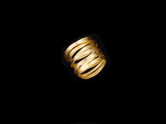 Pamela Bosco, RingWrap, 14k Gold