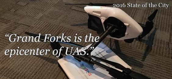 Grand Forks is the epicenter for everything UAS! #ILOVEGFK Grand