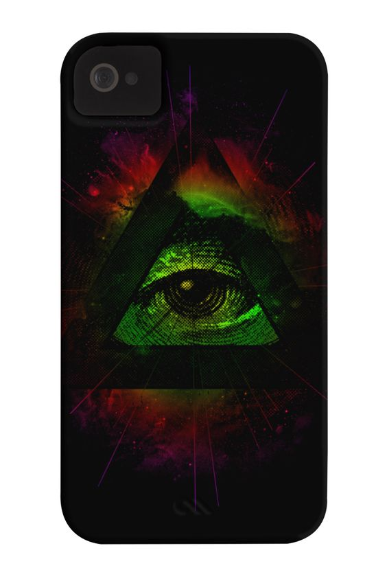 The Eye II Phone Case for iPhone 4/4s,5/5s/5c, iPod Touch, Galaxy S4