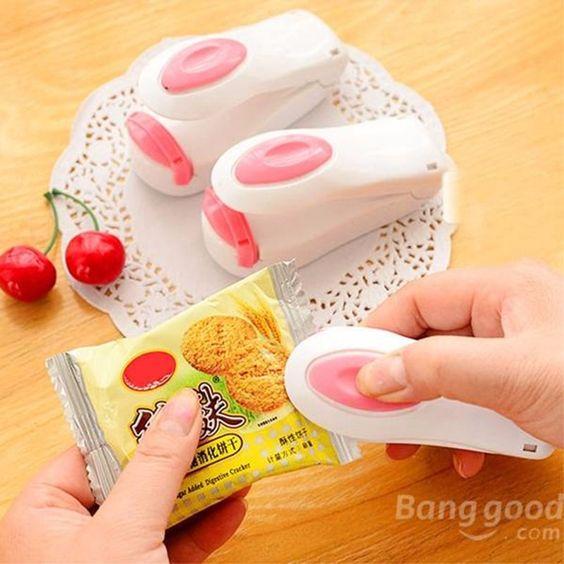 $7.60 (Buy here: http://appdeal.ru/9ies ) Mini Plastic Bag Heat Sealing Machine Impulse Sealer Seal Packing Plastic Food Snack Bag Sealer Home Convenient for just $7.60