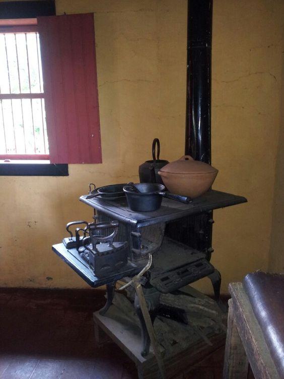 Cocina de le a antigua cocinas pinterest antigua - Estufas de lena precios economicos ...