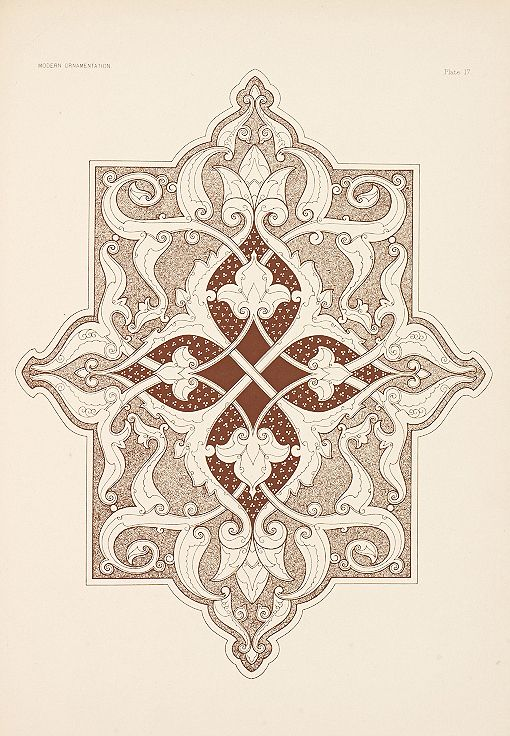 Design is fine. History is mine. — Christopher Dresser, Modern Ornamentation, 1886....: