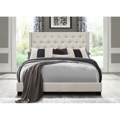 Greyleigh Gloucester Upholstered Panel Bed Reviews Wayfair Upholstered Panel Bed Upholstered Platform Bed Upholstered Beds