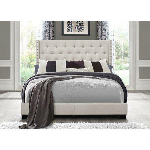 Greyleigh Gloucester Upholstered Panel Bed Reviews Wayfair