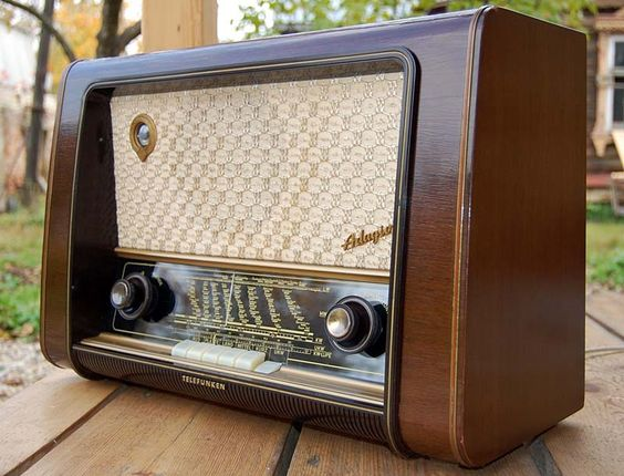 old radio? why not