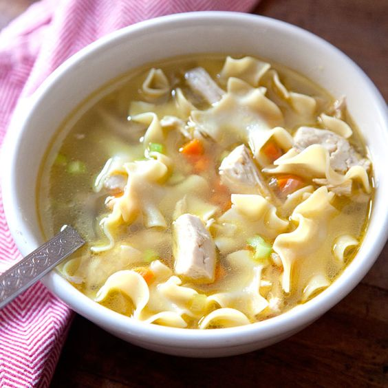Chicken Noodle Soup | Chicken noodles, Soups and Galleries