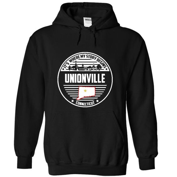 Unionville Connecticut Connecticut It's Where My Story Begins T-Shirts, Hoodies…