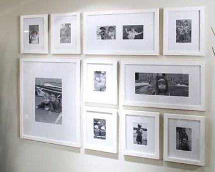 50 Ideas For Wall Gallery Layout Hallways Ikea Frames #wall