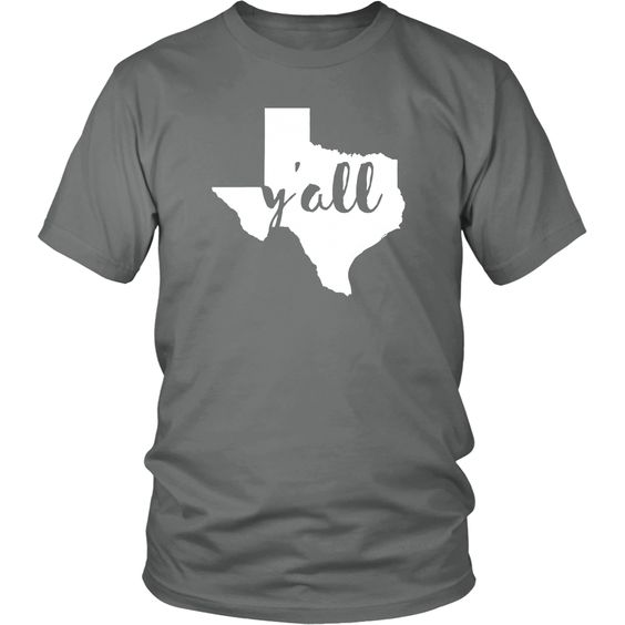 Texas Y'all State T-shirt