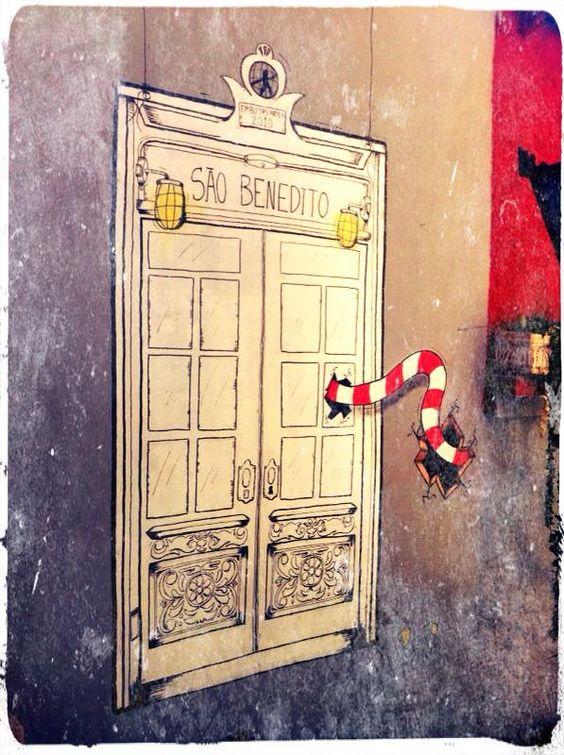 Bem vindos!  Ilustração Renato Gave