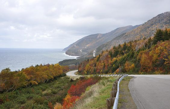 One of the best ways to see the beauty of this Canadian province is by taking a car ride along the 185 mile road through the island of Cape Breton. A drive along the northern section of the route small villages that are influenced by both the French and Scots.