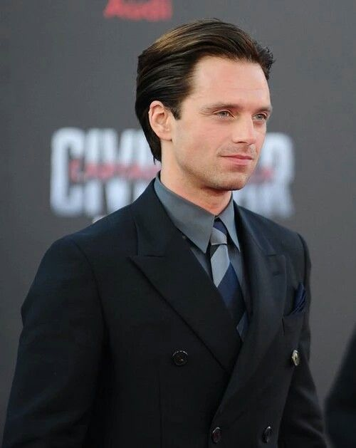 Sebastian Stan attends the world premiere of Captain America: Civil War at the Dolby Theatre in Los Angeles, California on April 12, 2016 (x)