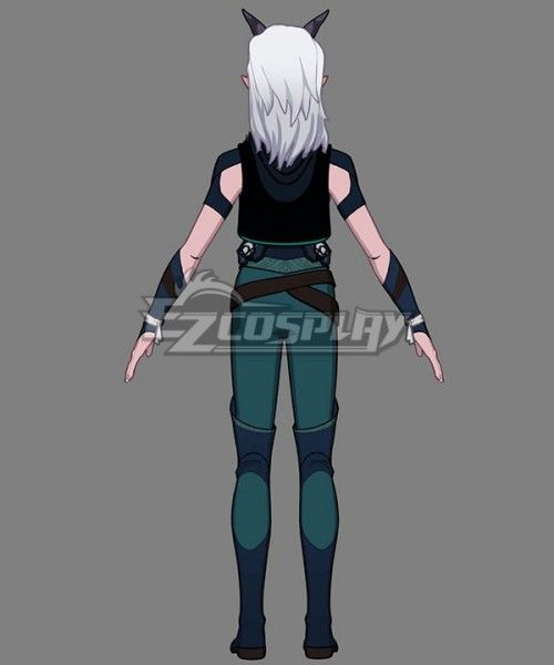 the dragon prince rayla cosplay shoes men/'s boots comic com