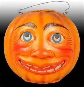 moon face jack-o-lantern