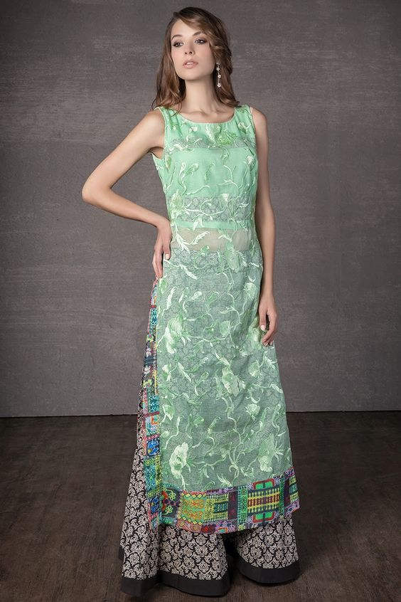 Z Fashion Trend: INDO WESTERN STYLE PARTY WEAR DRESS