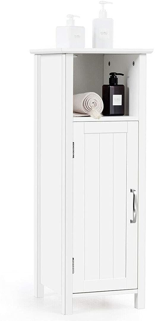 41++ White 4 drawer single door bathroom storage cabinet custom