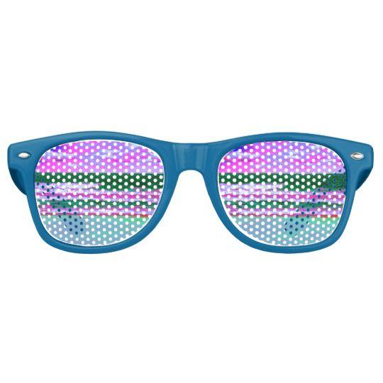 Horizon Vaporwave Sunglasses Zazzle Com Vaporwave Colorful Prints Custom Party