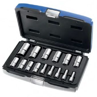 EXPERT 15-PC 3/8 DR DEEP SKT SET E031804