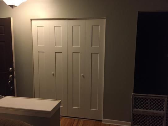 Craftsman Closet Doors And Home Depot On Pinterest