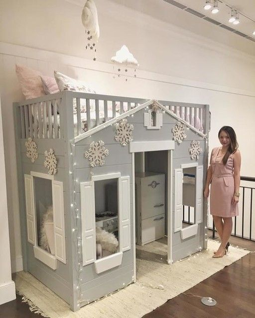 My Very Cute Winter Wonderland Bed Setup For Pottery Barn Kids