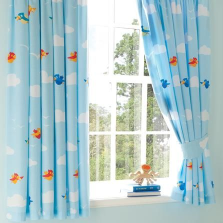 Curtains Ideas boys eyelet curtains : Kids Jolly Pirates Blackout Pencil Pleat Curtains | Dunelm ...