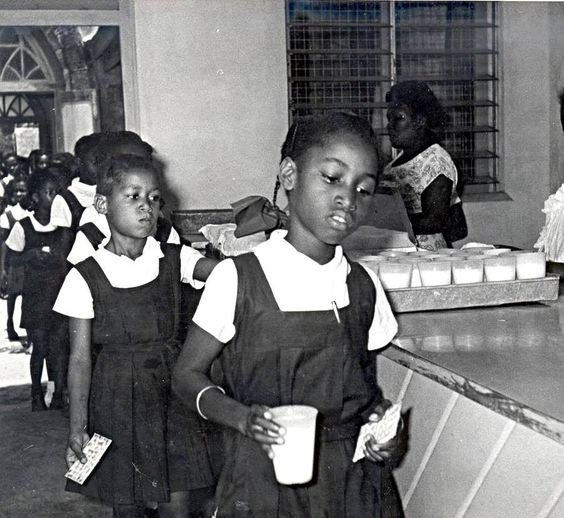 Milk and Biscuits at Primary School