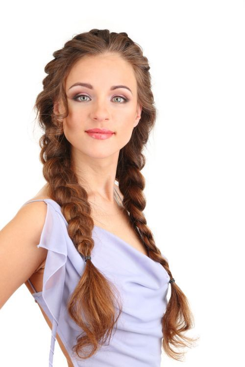 Marvelous Braided Hairstyles Long Hair And Hair 2014 On Pinterest Hairstyle Inspiration Daily Dogsangcom