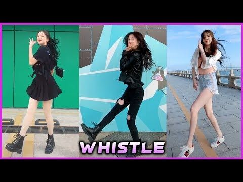 Whistle Dance Challenge Tik Tok Asian Compilation Youtube Entertainment