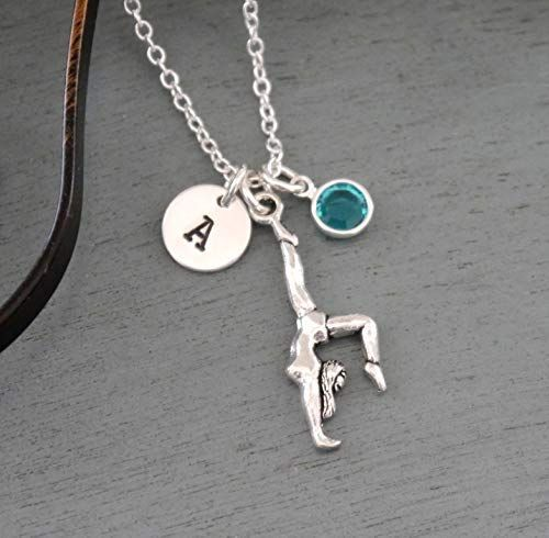 Gymnast Necklace Personalized Gymnastics Gifts Gymnastics Jewelry
