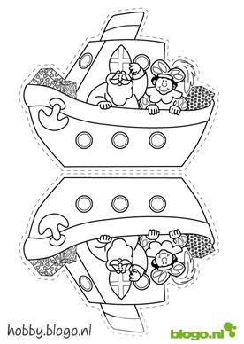 Stoomboot Knutselen 1 Gif 276 215 388 Pixels Knutselen