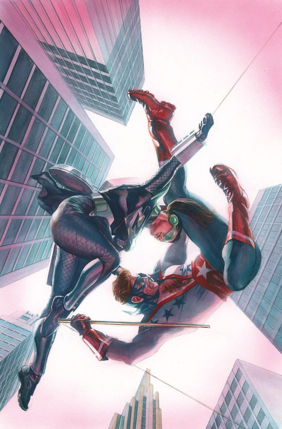 ASTRO CITY: LOVERS QUARREL HC Written by KURT BUSIEK Art by BRENT ANDERSON Cover by ALEX ROSS