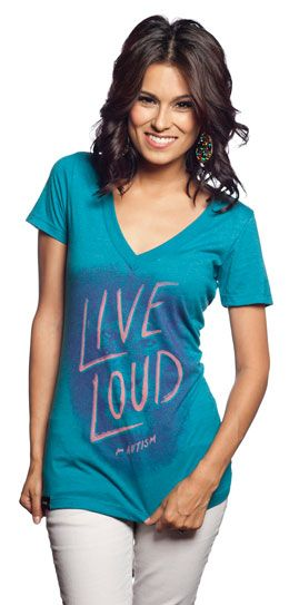 Live Loud for Autism - For 7 days only, when you buy 1 of these Sevenly tees, tops, sweaters, totes, or iPhone covers, $21 is donated to help Autism Speaks provide communication therapy to children with Autism!