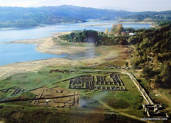 HISPANIA ROMANA - Excavación. Campamento romano de Aquis Querquennis, Bande, Ourense