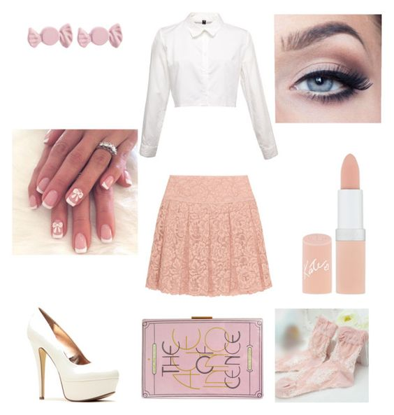"""""""(T)werk Clothes: Miss Understood"""" by paigedwinter on Polyvore featuring DKNY, Olgo, Marc by Marc Jacobs and Rimmel"""