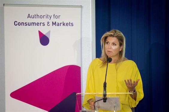 DEN HAAG - Koningin Máxima was vrijdag aanwezig bij het internationale congres 'Innovatie in toezicht, toezicht en innovatie' van de Autoriteit Consument & Markt (ACM) in Nieuw Babylon in Den Haag. De koningin hield een openingstoespraak. (Lees verder…)