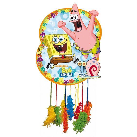 Piñata de #BobEsponja #cumple
