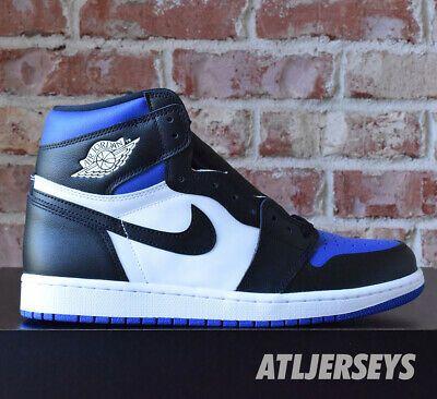 Details About Nike Air Jordan 1 Retro High Og Royal Toe Game Royal