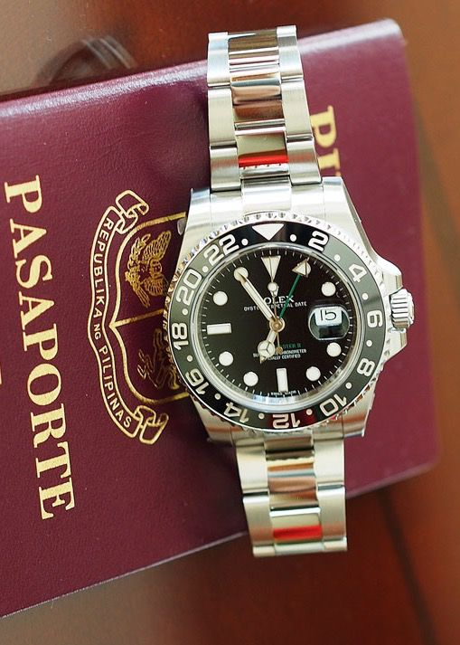 The GMT Master II.  Ref; 116710 LN. Introduced in 2007 and was an instant success.
