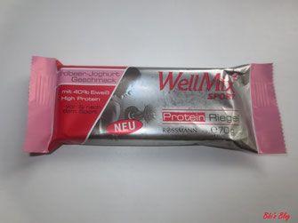 WellMix SPORT Protein Riegel #Produkttest #Rossmann #Produkttesterwochen