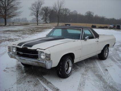el camino for sale | Classic 1971 Chevrolet El Camino for sale in creston, Ohio, Ad ...