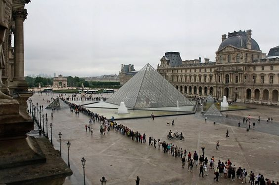 The Louvre on free Sunday.