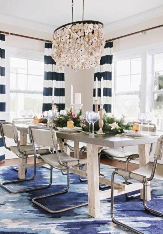 Simple Summer Decorating Ideas Farmhouse Table Centerpieces Coastal Dining Room Decor Farmhouse Table Decor