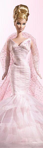 Pink Ribbon Barbie #J0932