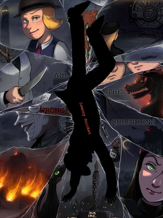 all the wrong questions fanart - Google Search